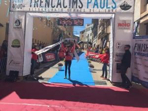 Mesi Arcos (Hoka Spain) segueix demostrant el seu talent amb una nova victòria. Foto Trencacims