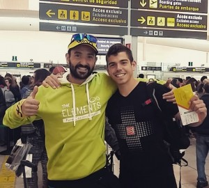 Jordi Gamito i Pau Capell, els dos representants catalans a Austràlia. (c) Facebook Pau Capell