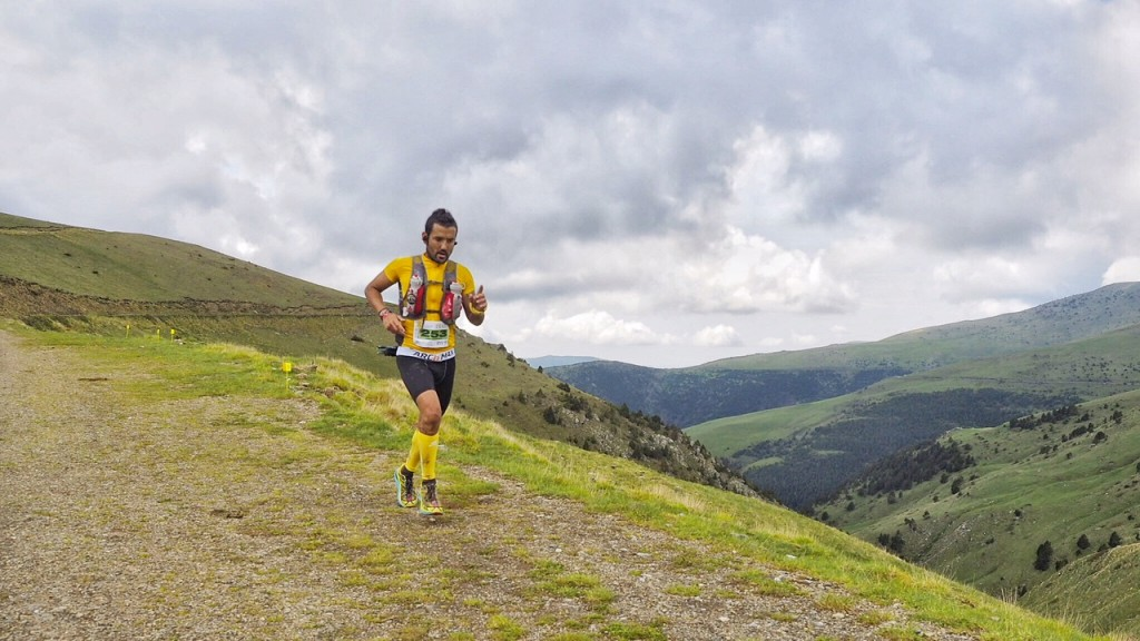 Jordi Gamito, flamant vencedor de la Trail Els Bastions 2016. (c) Jordi Santacana